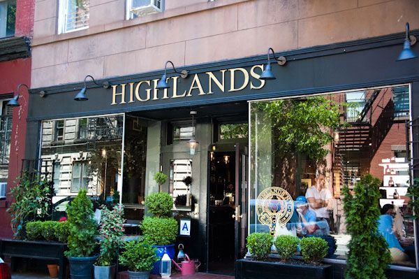 Highlands Restaurant New York City