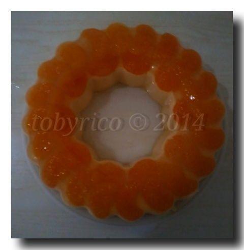 orange pudding - dessert