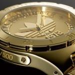 Adidas Originals Gold Plated 40th Anniversary Trefoil Watch