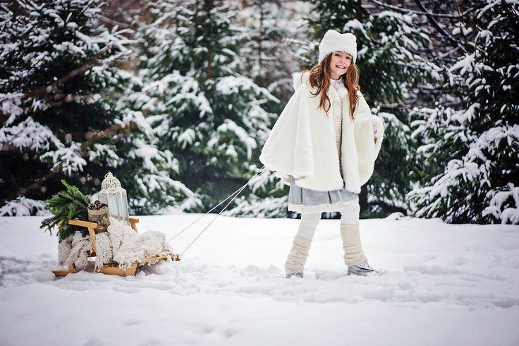 Фея зимнего леса (Детская фотосессия)