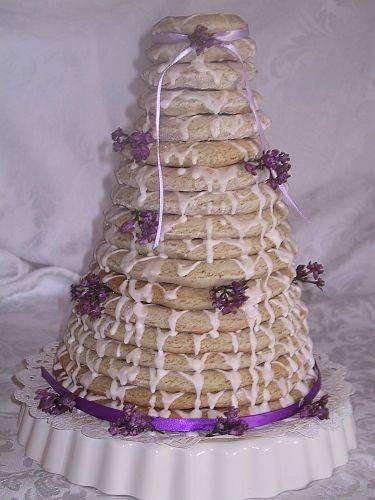 Norwegian Wedding Cake ~ Illustrated Step-by-step Instructions for making Kransekake, Norwegian Ring Cake