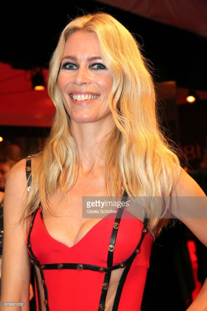 Claudia Schiffer during the Bambi Awards 2017 at Stage Theater on November 16, 2017 in Berlin, Germany.