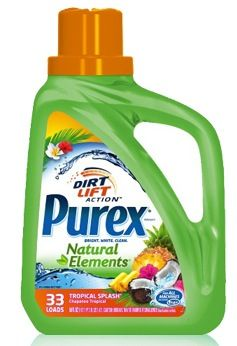 Purex Natural Elements Tropical Splash {Review} #PurexNaturalElements (& Giveaway Ends 4/24)