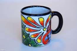 KUBEK ręcznie malowany (oryginalna ceramika meksykańska)