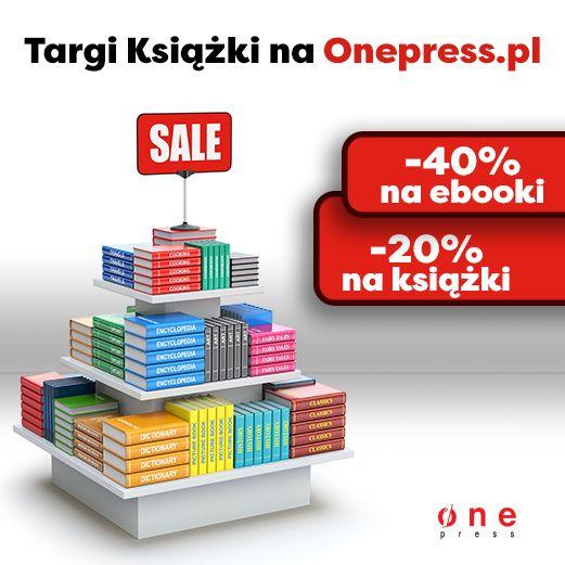 Targowa promocja na Onepress.pl  #targi #ksiazki #onepress