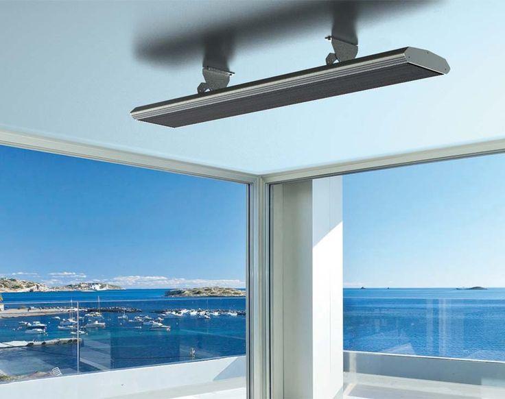Infrared outdoor heater BLACKLIGHT II - Mo-el