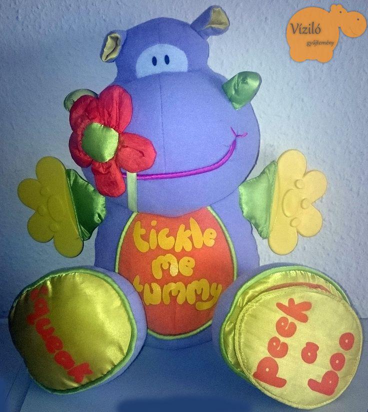 No. 551   víziló   plüss   hippo   plush