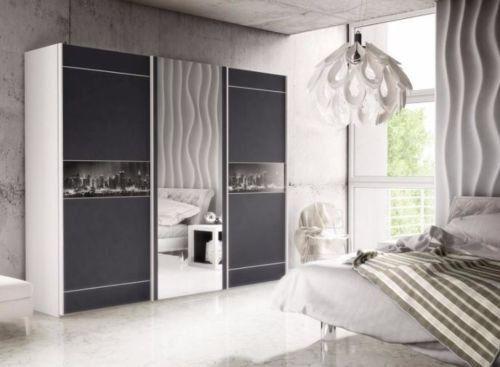 Modern Bedroom Wardrobe Downtown 266cm sold by Arthauss