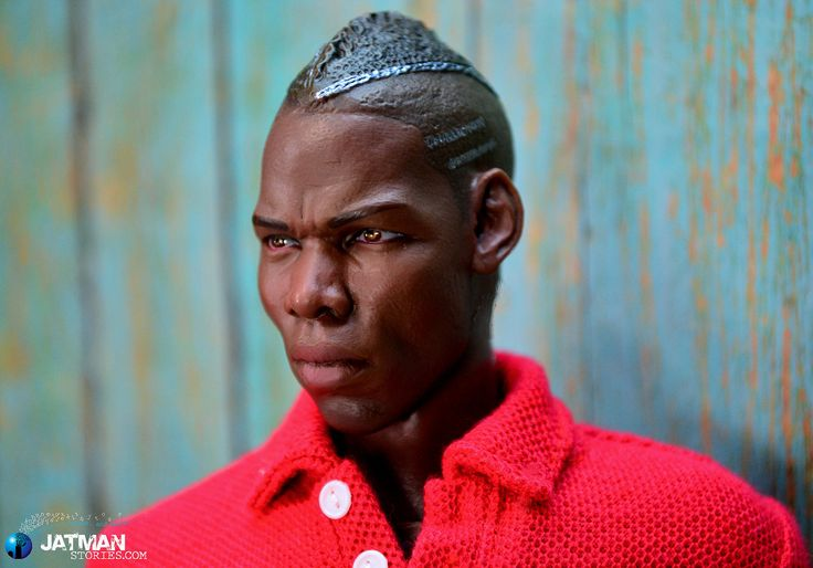 https://flic.kr/p/F6BwKt | Paul Pogba - ZCWO France 01 | New head sculpt of the France soccer player Paul Pogba, love the silver stripes in his hair.