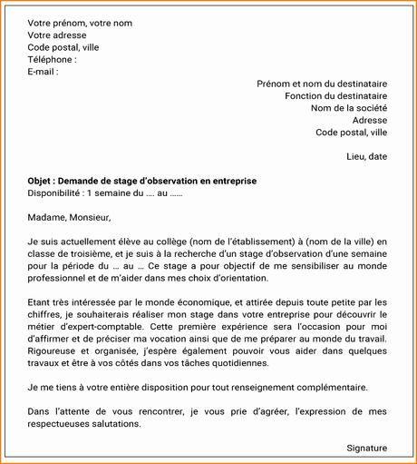 Lettre De Motivation Francais: Lettre De Motivation 3eme Prepa Pro En 2020