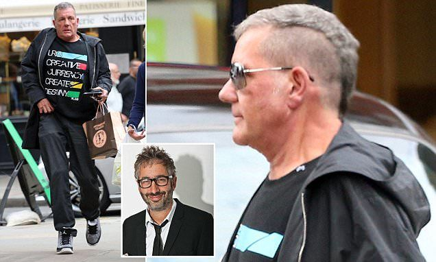 A David Baddiel crush, that Mohican; why friends worry for Dale Winton
