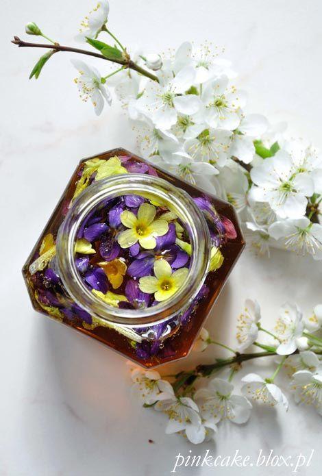 Miód fiołkowy i pierwiosnkowy Violets and primrose honey