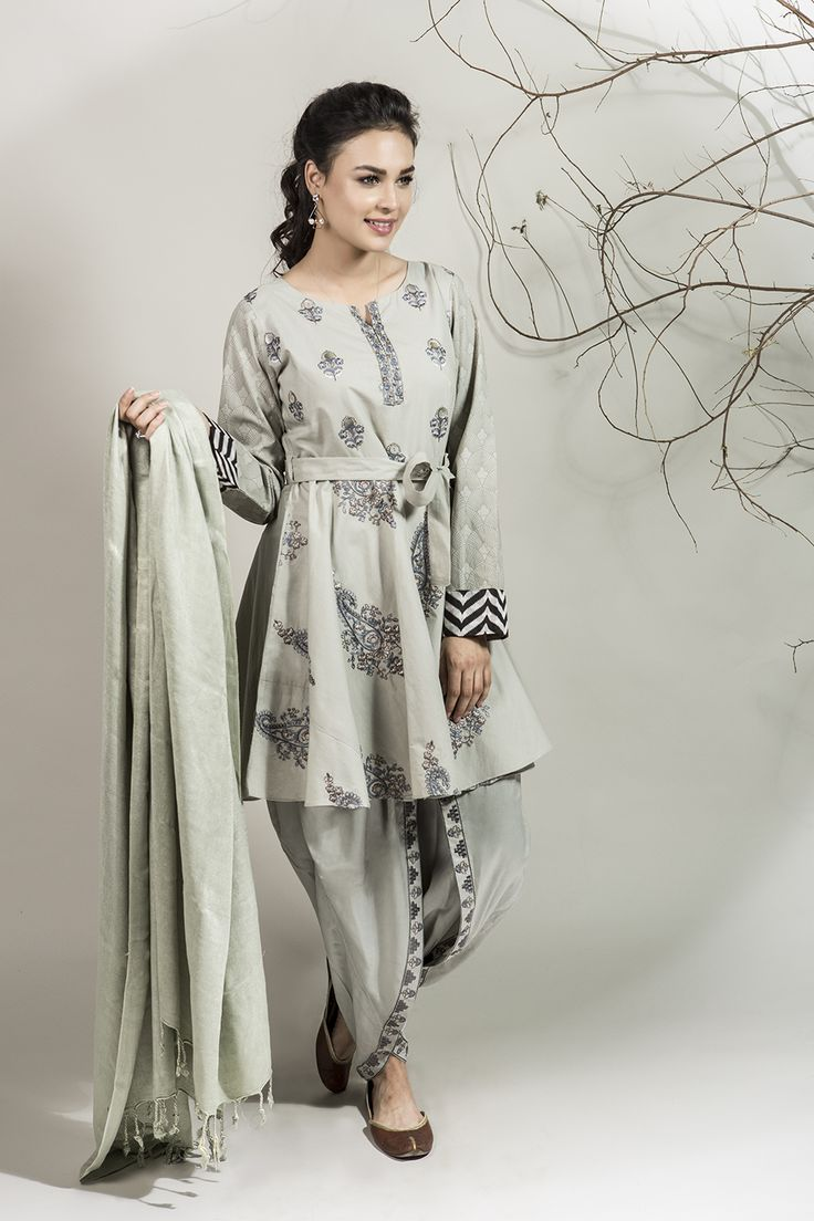 DW-1964 Grey 3 PC - MARIA.B Winter Collection 2016