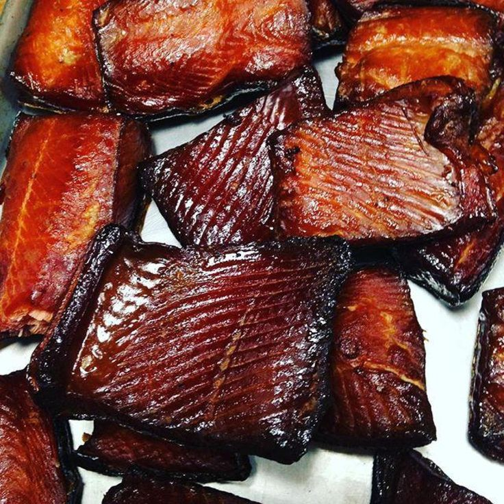 There won't be any leftovers!  The smoky-rich tang that comes from your fillets will astound everyone.  You and your guests will not be able to stop eating this high-protein, rich in Omega-3 oils delight.  You'll find yourself keeping this snappy snack on hand at all times.  I've been smoking salmon for 12 years and have never found a better way than using my dry brine recipe.  If you love smoked salmon, give my recipe a go.  This is a great go-to appetizer served up with crackers and cheese…