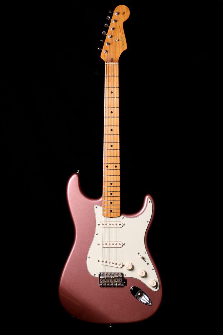 Fender Mexican Stratocaster 1950's Reissue Burgundy Mist