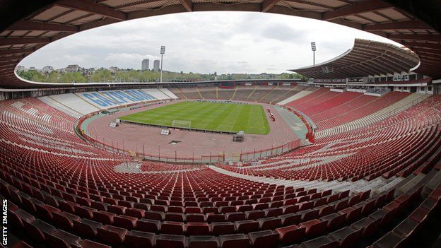 Red Star Belgrade stadium