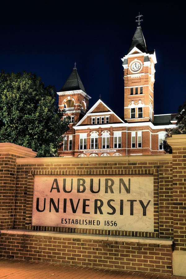 Auburn University Photograph  - Auburn University Fine Art Print
