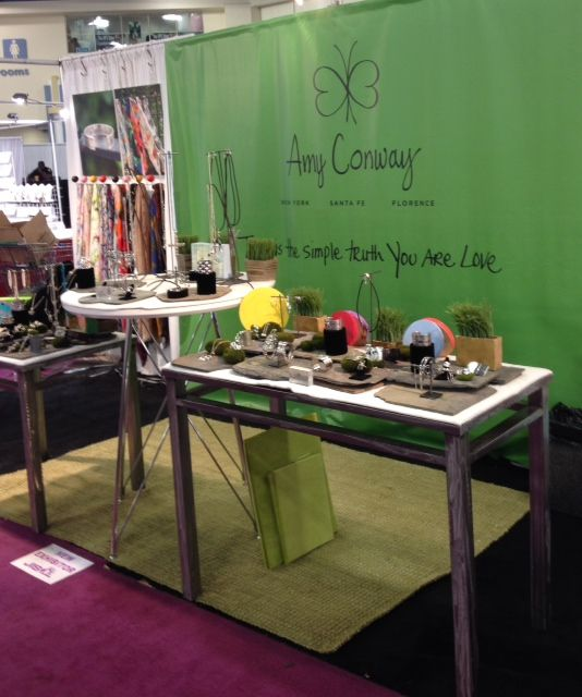The Amy Conway Booth At JIS Trade Show In Miami