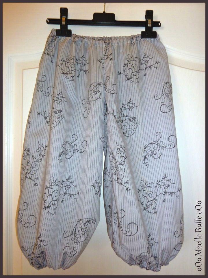 b65caa7acd502 patron couture gratuit pantalon bouffant Tuto Couture Pantalon