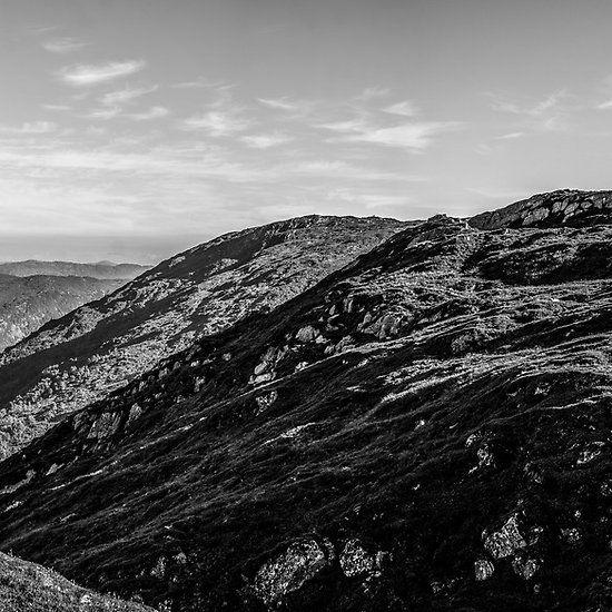 Ulriken - Floyen hike. Bergen, Norway.