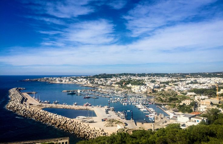 Port view Santa Maria di Leuca (LE)