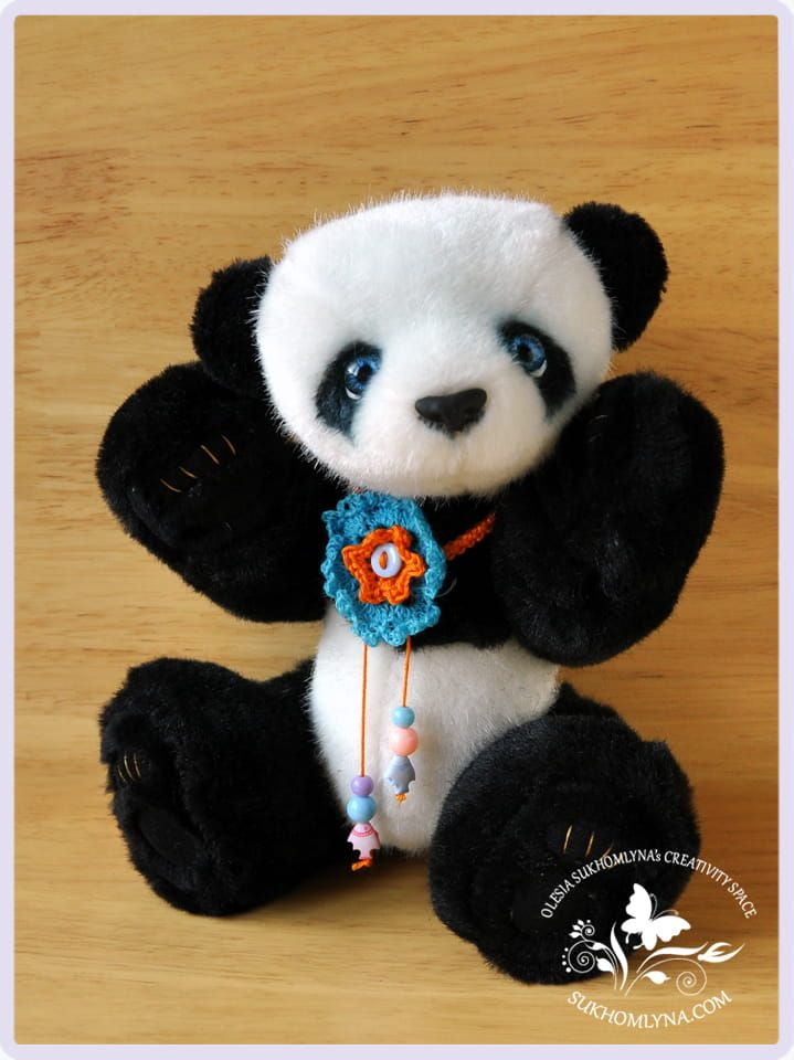 Plush Teddy Bear Panda Suli-01