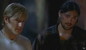 Karl Urban and Ron Eldard in the awesome Ghost Ship....love these boys