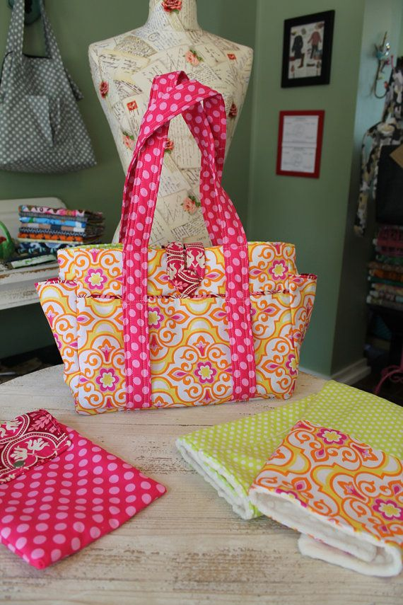 Custom Diaper Bag Set by WatermelonWishes on Etsy
