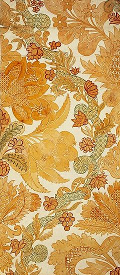 stilllifequickheart:    Anna Maria Garthwaite  Fabric design  1728