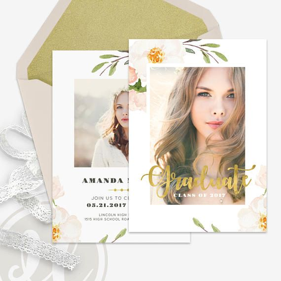 Best 25+ Graduation announcement template ideas on Pinterest - graduation announcement template