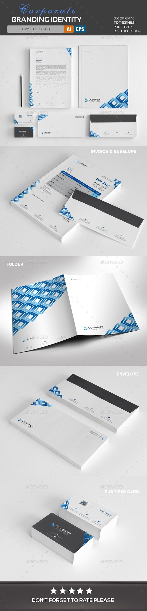 209 best corporate identity templates images on pinterest corporate identity templates alramifo Image collections