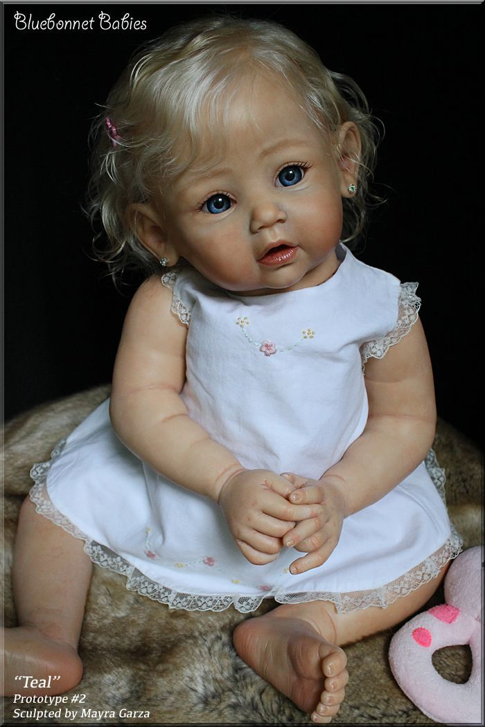 Teal by Mayra Garza - Pre-Orders open 2nd of June - Online Store - City of Reborn Angels Supplier of Reborn Doll Kits and Supplies