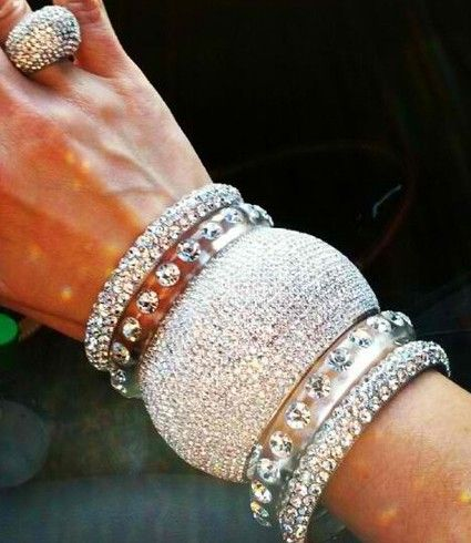 Bling stack ♥✤ | Keep the Glamour | BeStayBeautiful