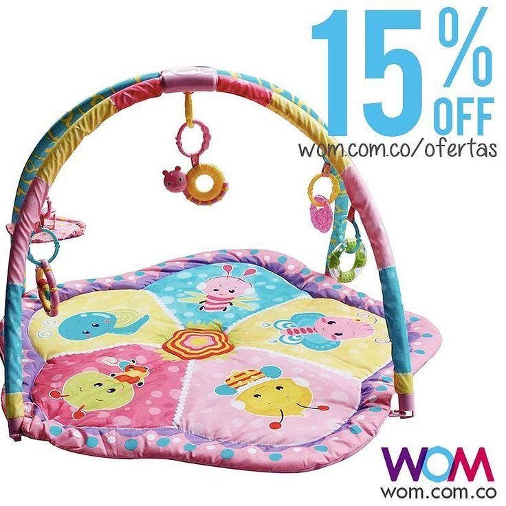 Gimnasio para que descanse y se estimule el bebé Hoy está en oferta Cómpralo en la #tiendawom  wom.com.co/ofertas o escríbenos   a nuestro WhatsApp 3146589987 y te lo enviamos a tu casa