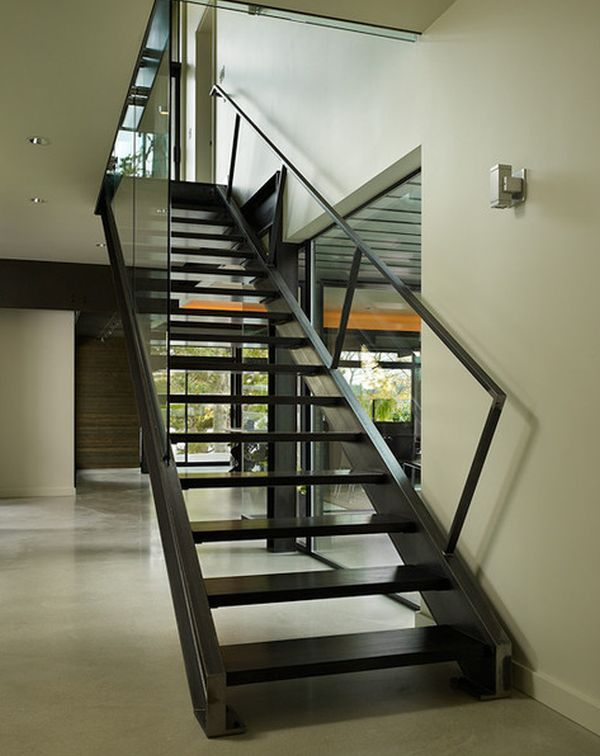 Best 32 Best Steel Staircase Images On Pinterest Glass 640 x 480