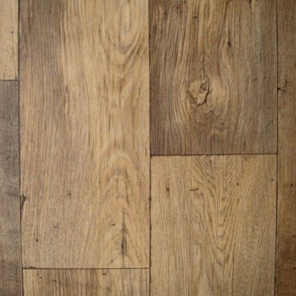 Thick vinyl wood flooring. Cheap. Looks like wood. Water resistant. No sub-floor needed. DIY