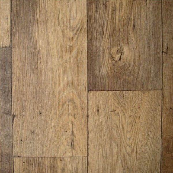 Thick vinyl wood flooring. Cheap. Looks like wood. Water resistant. No sub-floor needed. DIY