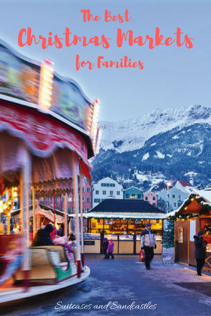 Best Christmas Markets for Families | Suitcases and Sandcastles