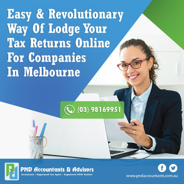 The easy & Revolutionary way of Lodge your Tax Returns Online for Companies in Melbourne.   #onlinetaxreturns #melbourne
