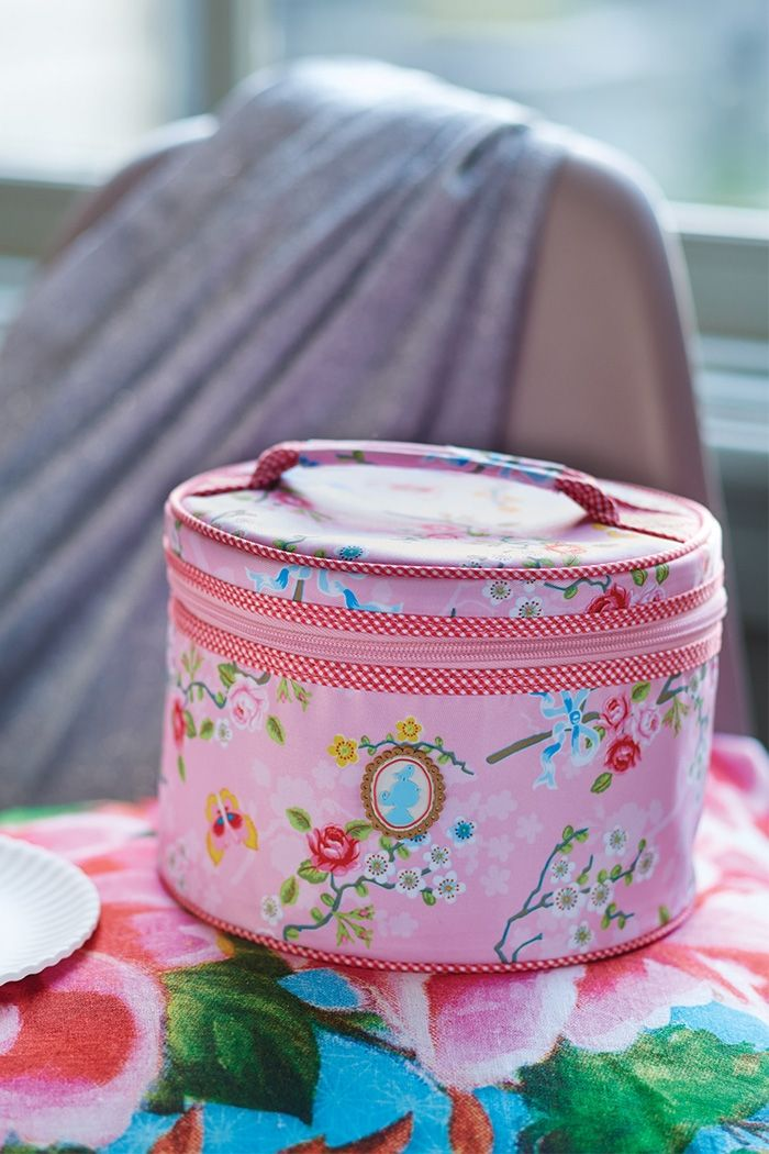 PiP Studio | Chinese Blossom | Beauty Case Medium | Pink