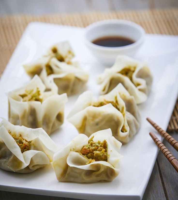 Our Vegetable Shumai from the #AsianFlavors recipe collection is so yummy! Try it out tonight we promise you and your family will LOVE it!!#yummy #goodfood #thermomixusa #shumai