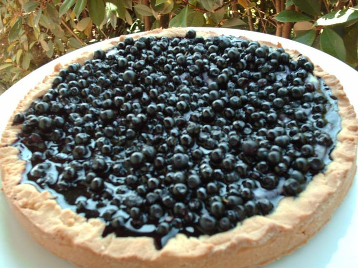 Crostata ai mirtilli, blueberry tart #blueberrypie #italiandesserts