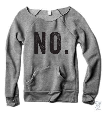 No Sweater