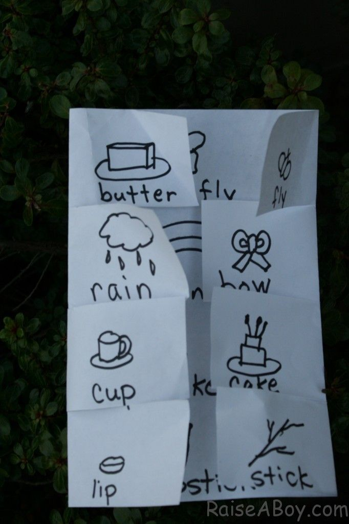 Fun idea to introduce compound words! this will be important for my mail order…