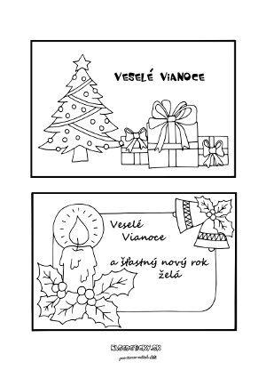 Vianočné pohľadnice - Aktivity pre deti, pracovné listy, online testy a iné