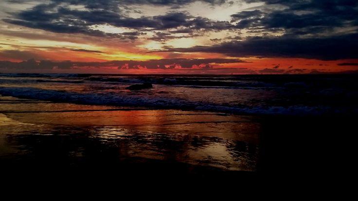 Sunrise at Sawtell Beach