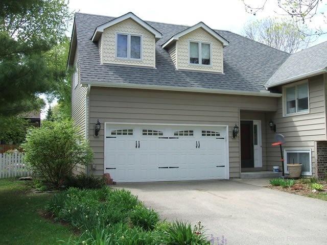 68 best detached garage images on pinterest driveway for 2 car garage addition plans