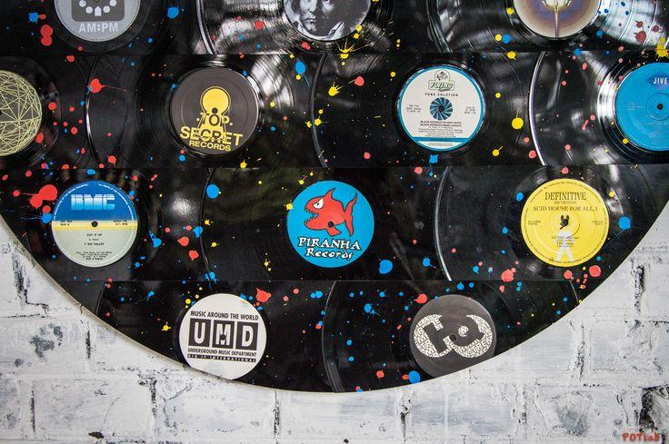 #quadri #dischi #vinile #33giri #records #vintage #arte #interiordesign #design #vintagestuff #vinylespassion #artevinilica #vinyldesign