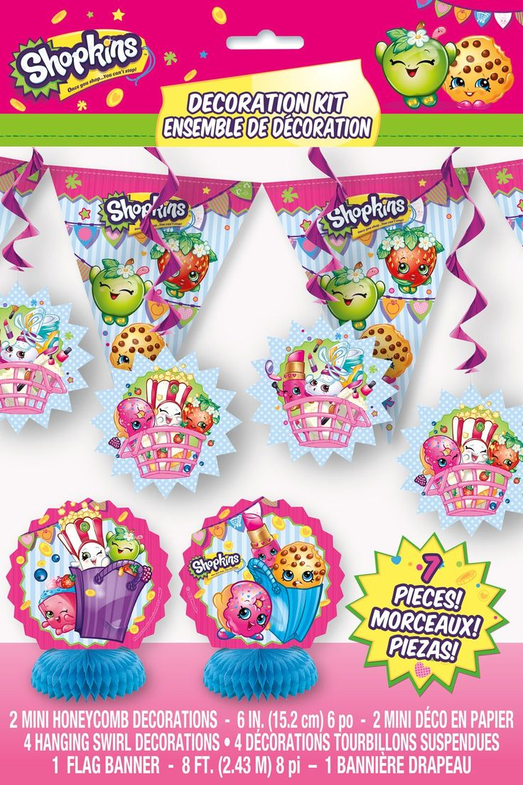 1000 Images About Shopkins Party On Pinterest Birthdays Party