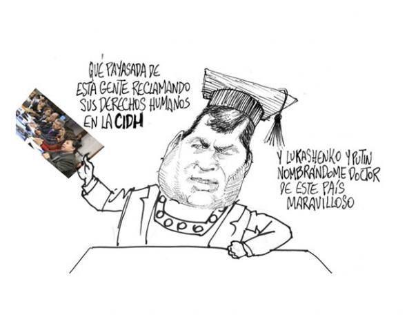 #Caricatura de #Bonil del viernes 1 de noviembre del 2013, publicada en #DiarioELUNIVERSO. #CaricaturaDeBonil  Las noticias del día en: www.eluniverso.com
